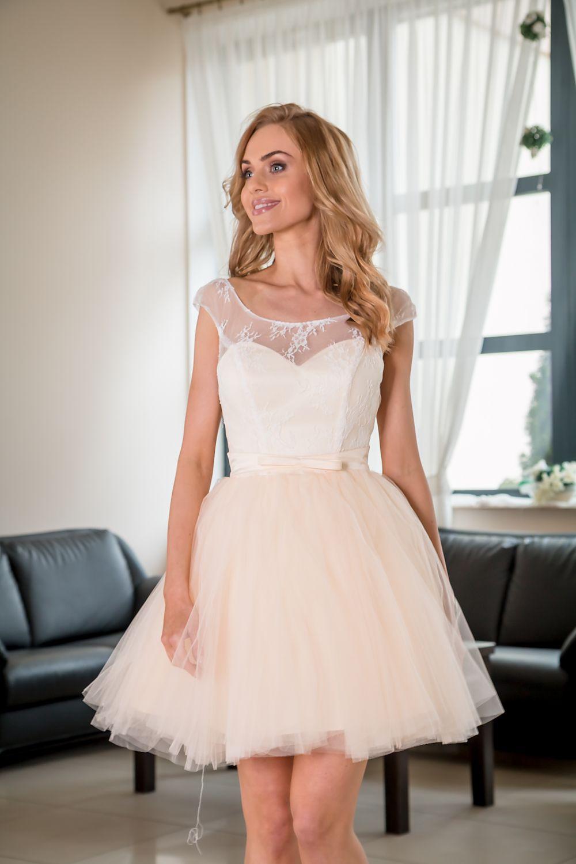 sukienka wizytowa mila salmon pretty women wholesale clothing online women s fashion shoes. Black Bedroom Furniture Sets. Home Design Ideas
