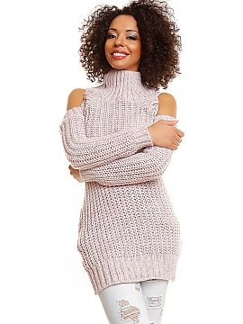 Hard-knitted jumper   PeeKaBoo