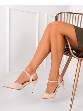 Strappy high heels   Inello