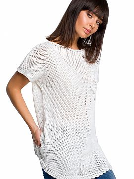Short sleeve sweater   BE Knit
