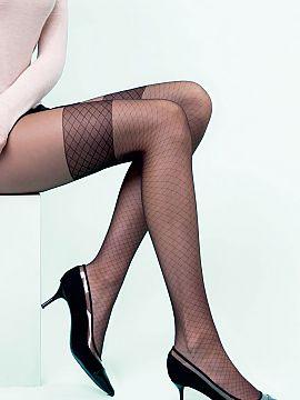 Tights, stockings, tigh-high socks, knee high socks - on