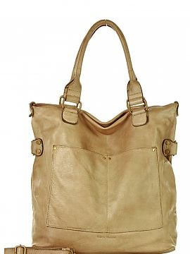 Natural leather bag   Mazzini