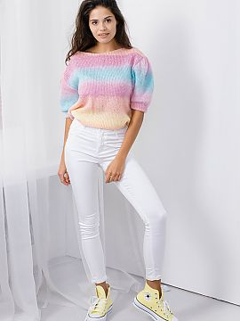 Short sleeve sweater   Lemoniade